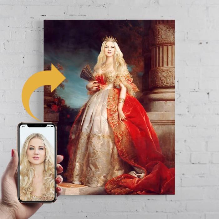 portret personalizat negociat.ro