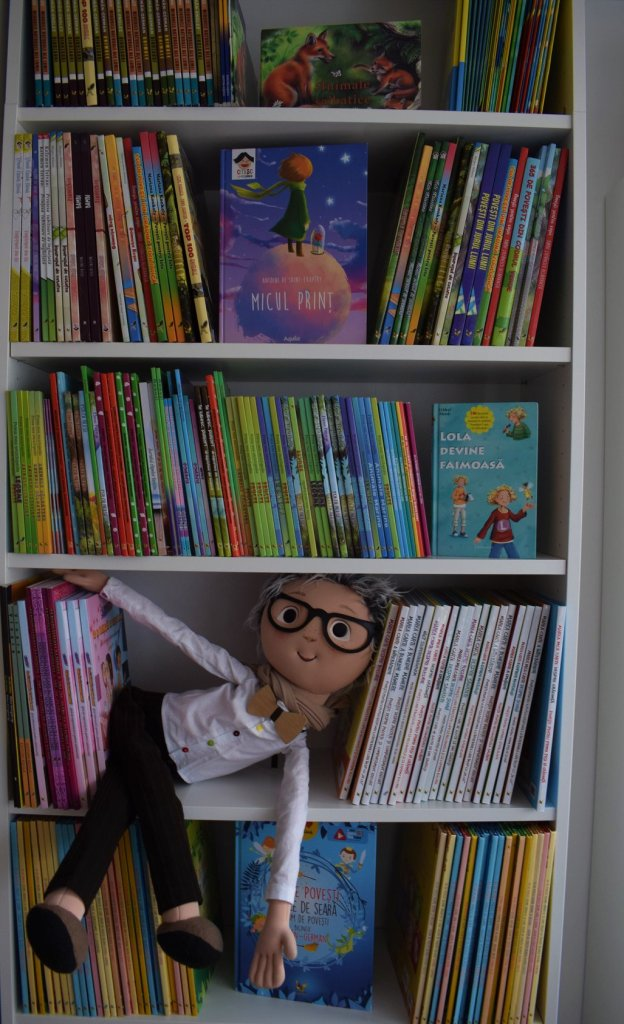 Librarul cu papion, librarie online carti pentru copii